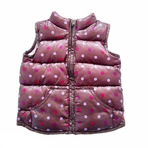 4/$30 Old Navy Girl's Puffer Vest, 18 - 24 months